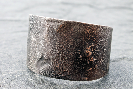 moon crater cuff