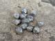 rough silver color diamond