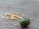 nephrite jade barrel bead necklace