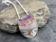 amethyst agate designer necklace