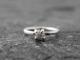 raw Canadian diamond engagement ring